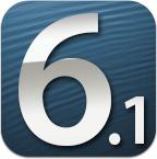 iOS 6.1 دابگرە
